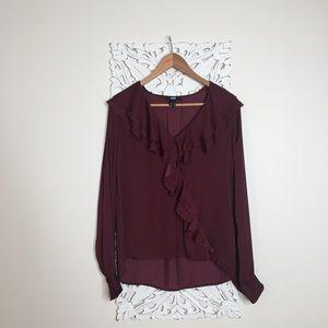 Merlot blouse